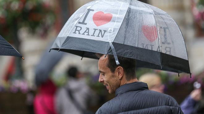Prévisions météo: retour de la grisaille et de la pluie...