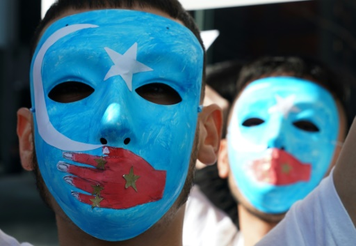Manifestation à New York pour alerter sur le sort des Ouïghours