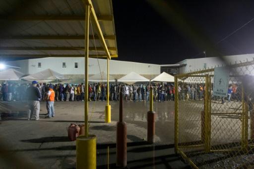 Mexique: 1.700 migrants latinos arrivés à la frontière américaine