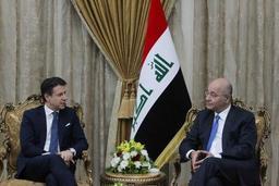 Le chef du gouvernement italien à Bagdad
