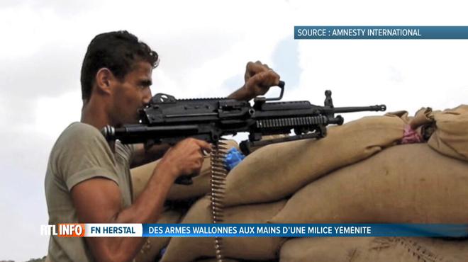 Des armes fabriquées en Wallonie entre les mains d'un groupe armé au Yémen?