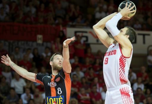 Basket: Monaco éliminé, Villeurbanne contre Andorre en quarts de l'Eurocoupe