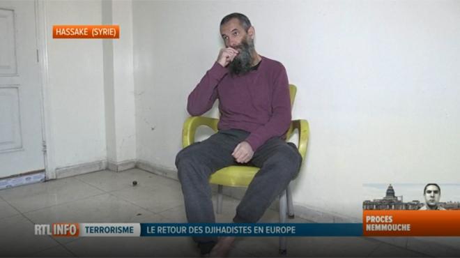 Alexander, ancien membre de l'État islamique, veut retourner chez lui en Europe: