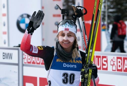 Biathlon: la Norvégienne Eckhoff s'impose à Canmore
