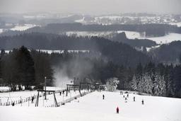 Les Crêtes de Xhoffraix, seul centre de ski toujours accessible en Fagnes