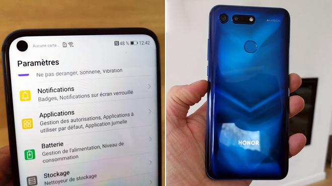 """Les tests de Mathieu: voici le premier smartphone avec un écran """"troué"""" disponible en Belgique"""