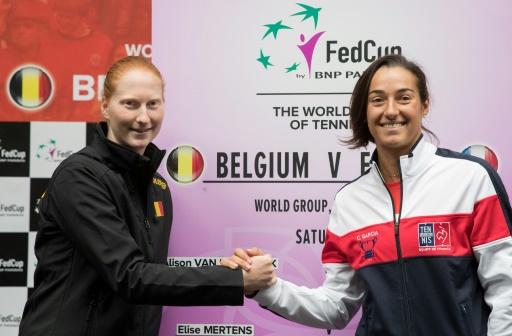 Fed Cup: le double défi des Bleues face à la Belgique