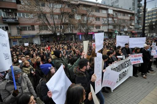 Les viols d'une adolescente scandalisent le Kosovo