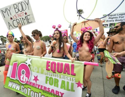 Peine confirmée pour des Américaines qui avaient été à la plage seins nus