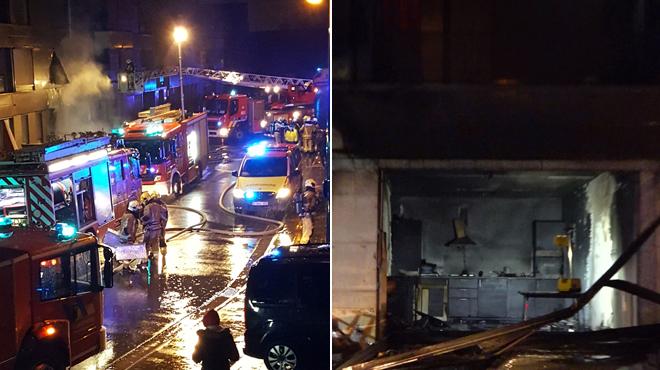 Incendie dans une maison de repos à Drogenbos: de la poudre à canon serait finalement la cause du feu