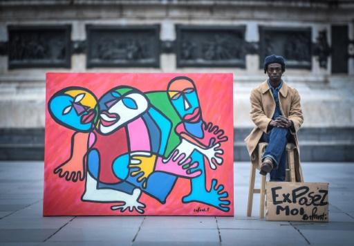 Enfant Précoce, l'artiste qui met des couleurs dans les rues de Paris