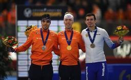Mondiaux de patinage - Le Néerlandais Jorrit Bergsma sacré sur le 10.000m