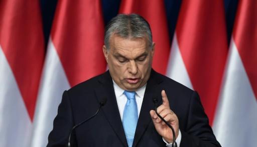 Elections européennes: Orban se pose en défenseur des