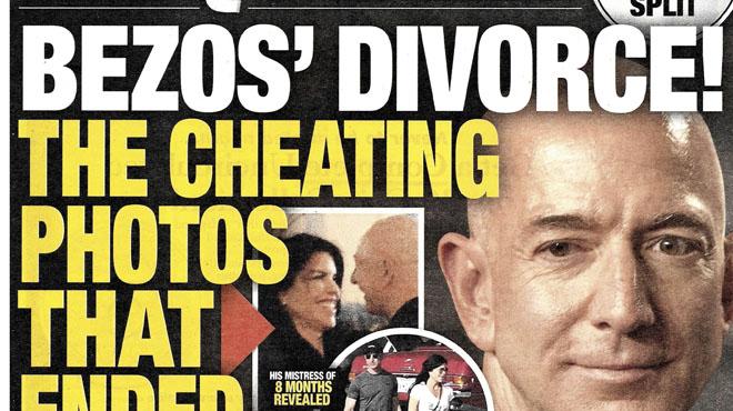 Un avocat du tabloïd NIE UN CHANTAGE sur Jeff Bezos, le patron d'Amazon: a-t-il été trahi par le frère de sa maîtresse ?