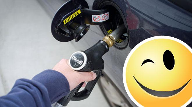 Vous roulez au diesel? Faites le plein aujourd'hui si possible