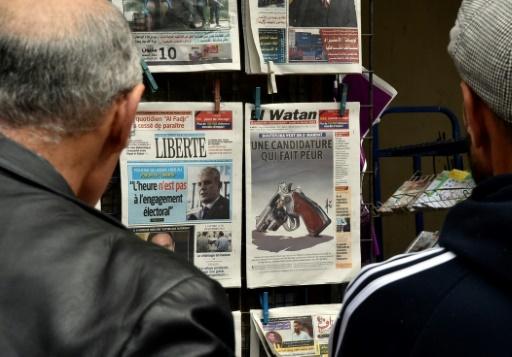 Algérie: Bouteflika candidat, les jeux sont faits, constatent les médias