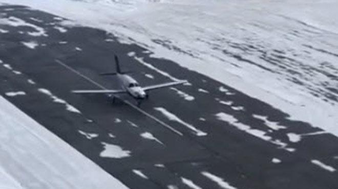 Entraîné dans sa course infernale, cet avion se crashe en bout de piste à l'altiport de Courchevel (vidéo)