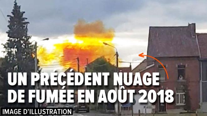 Une fumée orange va se dégager de l'usine Yara à Tertre: pas de panique, préviennent les autorités, elle n'est pas toxique