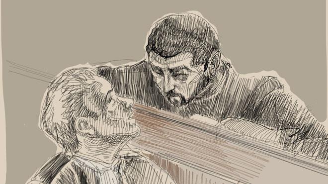 Des auditions filmées de Nemmouche diffusées au procès: