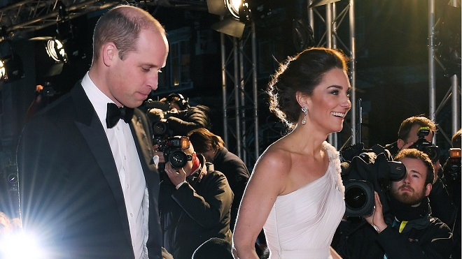 Une ado prend une incroyable photo de Kate Middleton sur le tapis rouge des BAFTAS: