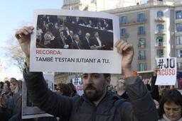 Ouverture du procès contre les dirigeants indépendantistes catalans