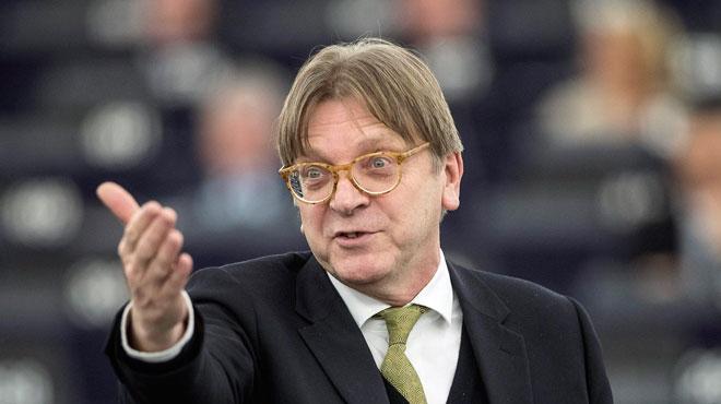 Guy Verhofstadt compare les politiciens britanniques en faveur d'un Brexit dur aux chefs de la révolution française et met en garde contre la guillotine