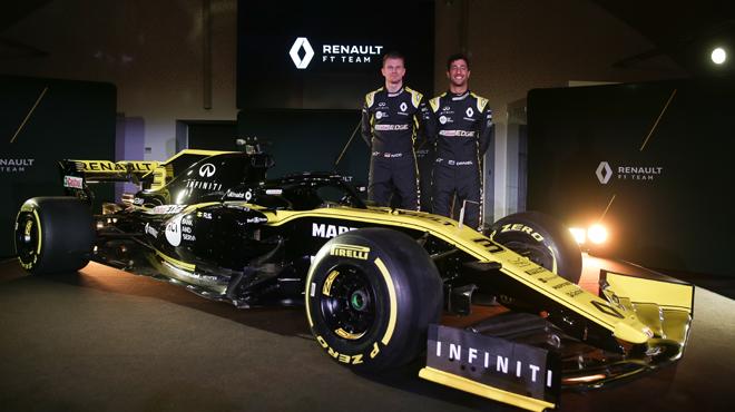 F1: Renault présente la monoplace qui doit lui faire franchir un palier (vidéo)