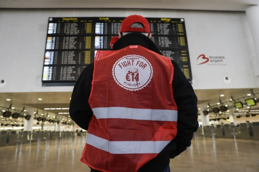 Grève nationale en Belgique, le pays au ralenti