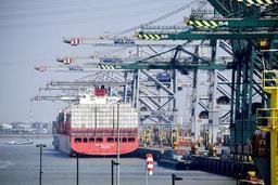Grève nationale: plus de 30 navires en attente dans le port d'Anvers