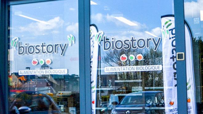 Le magasin Biostory défoncé à la voiture-bélier et braqué à Ottignies