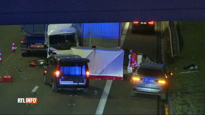 Accident mortel sur le ring extérieur de Bruxelles: une enquête ouverte par le parquet de Hal-Vilvorde