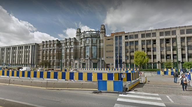 Echauffourée devant l'Institut des Arts et Métier à Bruxelles: un blessé
