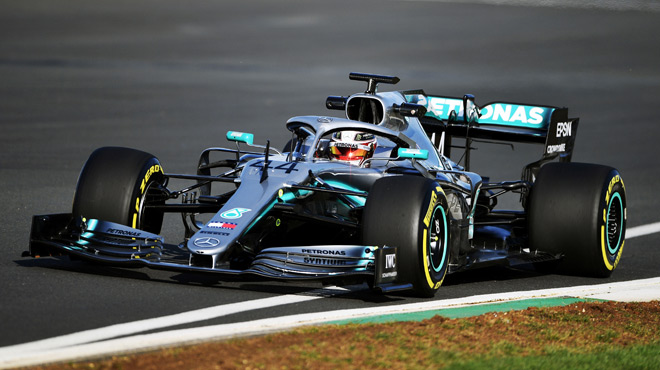 Mercedes dévoile la W10, sa F1 pour la saison 2019 (photos)
