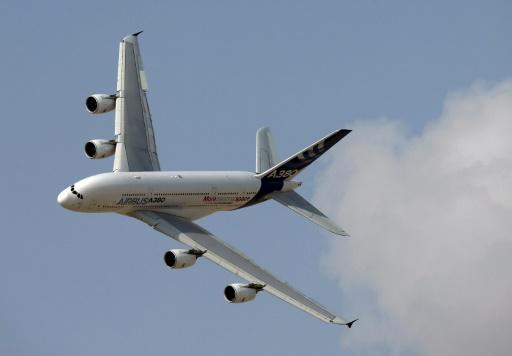 L'A380, l'emblématique géant des airs d'Airbus