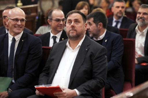 Procès indépendantistes catalans: le principal accusé refuse de répondre à l'accusation