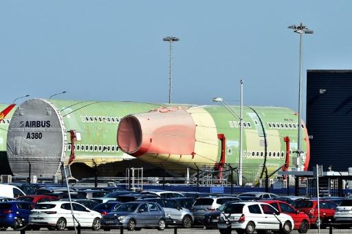 Tristesse et amertume devant le site d'assemblage de l'A380