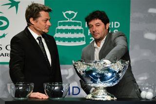 Coupe Davis- la France avec la Serbie de Djokovic et le Japon de Nishikori