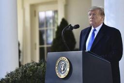 Donald Trump annonce qu'il signera