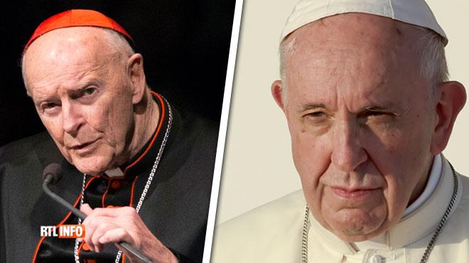 Le pape défroque un ex-cardinal américain accusé d'abus sexuels