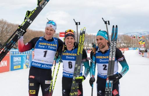 Biathlon: Fillon-Maillet et Desthieux font le plein de confiance à Soldier Hollow