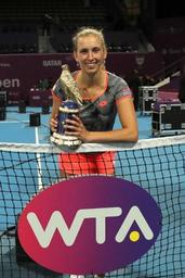 Tennis/WTA Doha - Simona Halep battue par Elise Mertens: