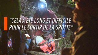 L'homme coincé dans l'une des grottes les plus profondes du pays à Yvoir évacué- voici le récit de son sauvetage en pleine nuit 2