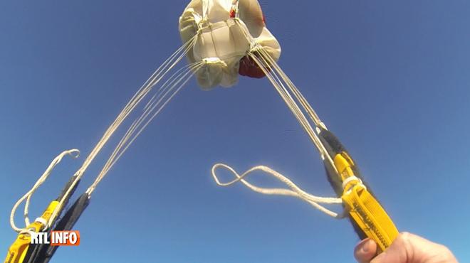 Une parachutiste grièvement blessée après un saut à Spa: