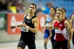 Championnats de Belgique en salle - Kevin Borlée pas encore certain d'enchaîner le 400 individuel et 4x400 à Glasgow