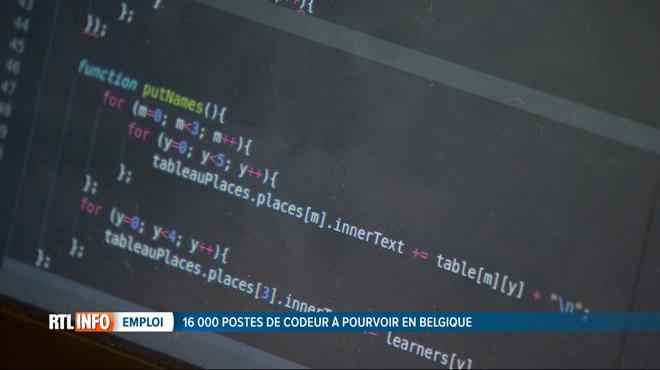 Il manque 16.000 codeurs en Belgique: une nouvelle formation en intelligence artificielle ouvre ses portes à Bruxelles