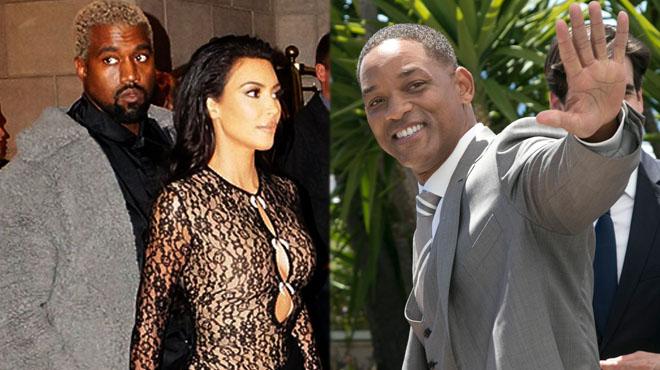 Quand Will Smith se moque gentiment de Kim Kardashian et Kanye West (photo)
