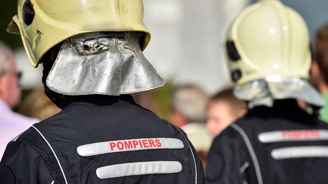 Une personne intoxiquée lors d'un incendie à Wavre