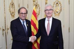 Le président catalan remercie la Flandre pour son soutien