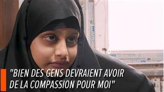 Shamima, une Britannique de 19 ans, a rejoint le groupe Etat Islamique en 2015- elle veut désormais rentrer au pays 2