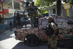 Haïti: le gouvernement nie avoir enrôlé des mercenaires